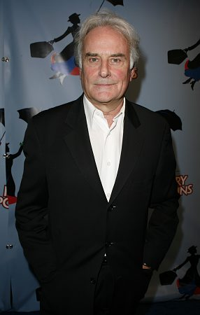 Richard Eyre at Mary Poppins Opening Night Arrivals