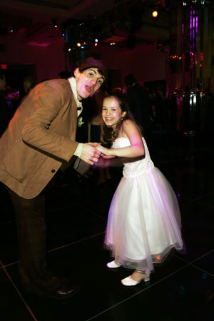 Case Dillard and Katherine Leigh Doherty dance the night away at Mary Poppins Opening Night Dinner Party