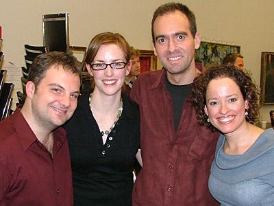 Vadim Feichtner, Carmel Dean, David Kirshenbaum and Lynne Shankel at Photo Coverage Exclusive: The Music of David Kirshenbaum