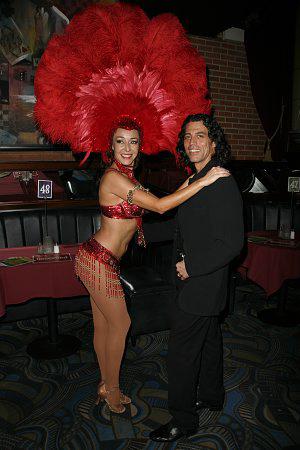 Irene Aram and Richard Amaro at An Evening of Latin Rhythms