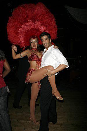 Irene Aram and Raymond Del Barrio at An Evening of Latin Rhythms