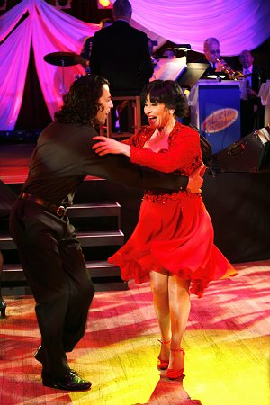 Richard Amaro and Chita Rivera at An Evening of Latin Rhythms