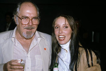 Robert Altman with Shelley Duval at Time Bandits release party at Photo Tribute: Robert Altman