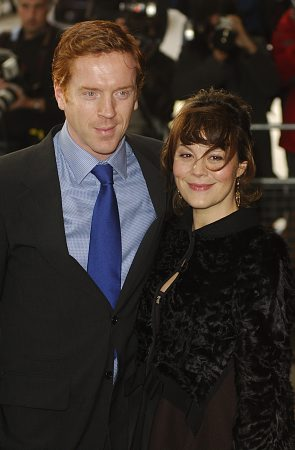 Damien Lewis and Helen McCrory at Evening Standard Awards