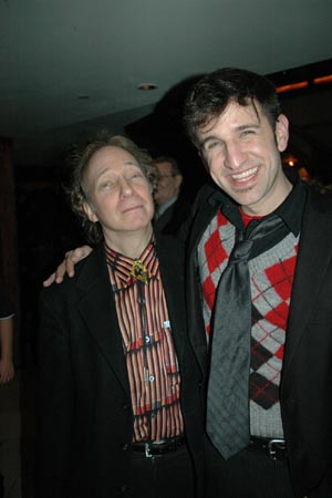 Scott Siegel and David A. Austin at World AIDS Day 'Rags' Concert