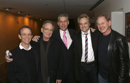 Joel Grey, Ron Rifkin, CTG Artistic Director Michael Ritchie, Bradley Whitford and Victor Garber at  Edward Scissorhands Opens in L.A.