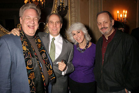 Albert Poland, Ben Sprecher, Jamie DeRoy and Jeffrey Richards at The Smiths' Holiday Party