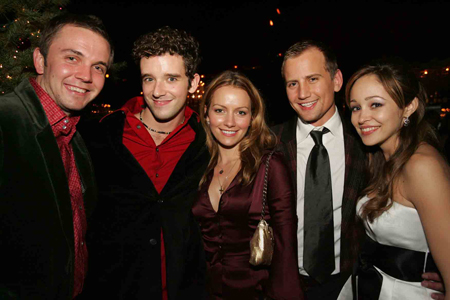 michael urie and becki newton. Michael Urie, Becki Newton