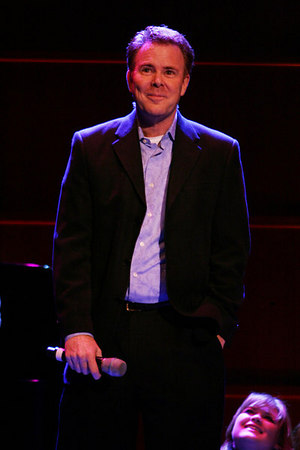 David Green at  Andrew Lippa in the O.C.