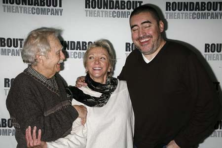 Alvin Epstein, Elizabeth Franz and Alfred Molina at Howard Katz Meet and Greet