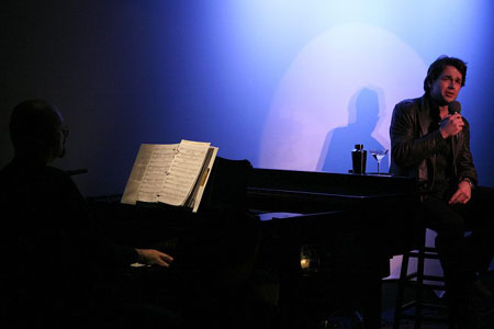 Paul Ford and Julian Ovenden at Julian Ovenden at the Metropolitan Room