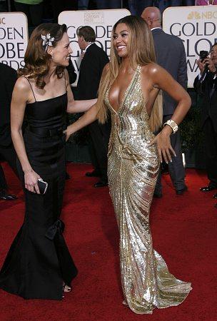 Jlo Vs Beyonce Gold Golden Globes Dress Showdown Black Hair Media Forum Page 1