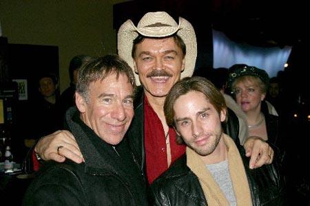 Stephen Schwartz, Randy Jones and Chris DiCristo at Ken Page at the Metropolitan Room