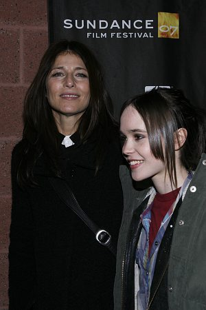 Catherine Keener and Ellen Page