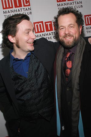 Alan Cox and David Costabile at Translations Opening Night