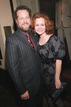 David Costabile and Geraldine Hughes