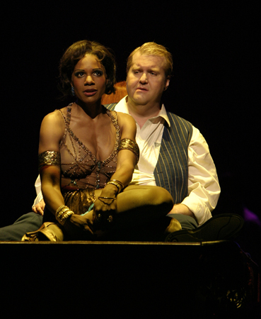 Audra McDonald and Anthony Dean Griffey at  Rise and Fall of the City of Mahagonny