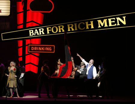 Patti LuPone, Anthony Dean Griffey and cast at  Rise and Fall of the City of Mahagonny