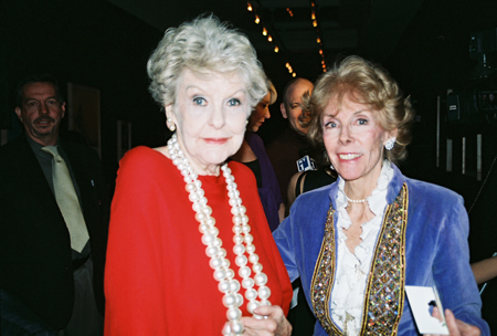 Elaine Stritch and Betsy Von Furstenberg at Love 'N Courage Benefit