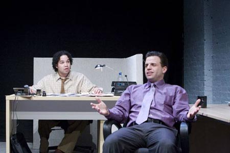 Frank Harts and Alex Alioto at Off-Broadway's 'Nelson'