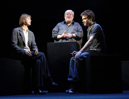 Jenny Agutter, Richard Griffiths and Daniel Radcliffe at Equus Photo Call