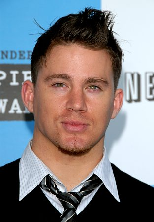 Channing Tatum at Spirit Awards