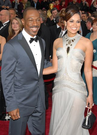 Eddie Murphy and Tracey Edmunds at 79th Annual Academy Awards