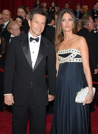 Mark Wahlberg and guest at 79th Annual Academy Awards