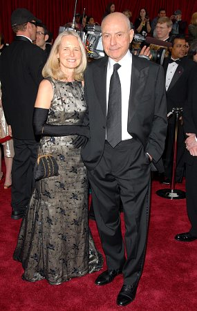 Alan Arkin and wife at 79th Annual Academy Awards