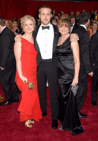Ryan Gosling and family at 79th Annual Academy Awards