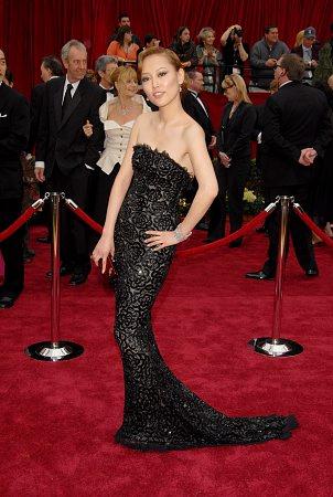Rinko Kikuchi at 79th Annual Academy Awards