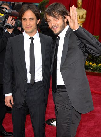 Gael Garcia Bernal and Diego Luna at 79th Annual Academy Awards