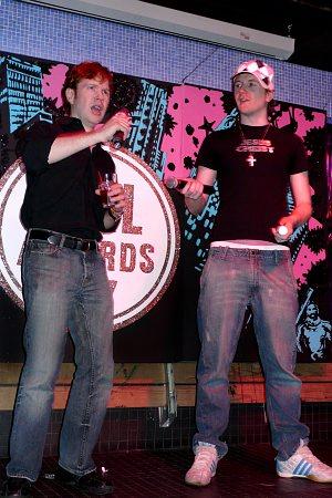Ken Kleiber and Francis Legge at 2007 Pill Awards