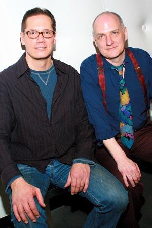 Robert Krakovski and Patrick Husted at Bill W. and Dr. Bob Opens