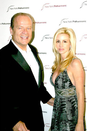 Kelsey Grammer and Camille Grammer at NY Philharmonic's My Fair Lady