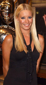 Denise Van Outen at Van Outen, Barrowman Part of 'Any Dream Will Do' Panel