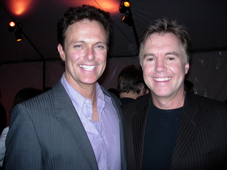 Patrick Cassidy and Shaun Cassidy at  S.T.A.G.E. Benefit L.A.