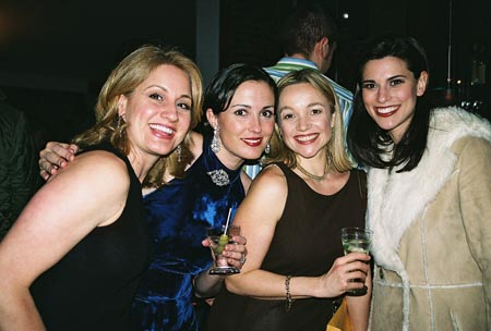 Kristin Huffman, Leenya Rideout, Renee Bang Allen and Milena Govich at 12th Annual Nothing Like a Dame Benefit