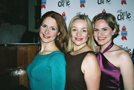 Kelly Jeanne Grant, Renee Bang Allen and Amy Justman at 12th Annual Nothing Like a Dame Benefit