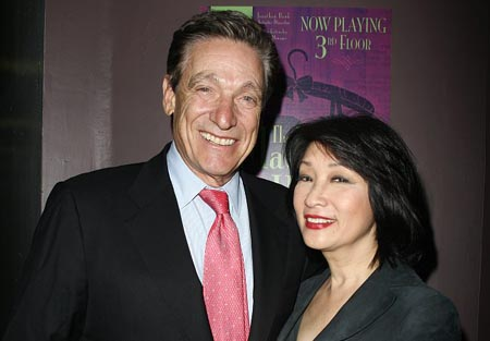 connie chung and maury povich. Maury Povich and Connie Chung