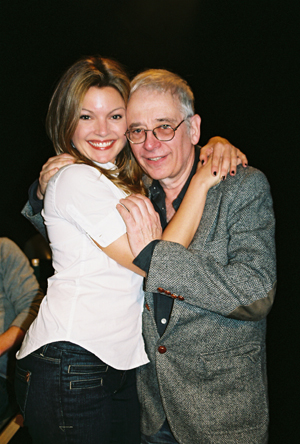 Clare Kramer and Austin Pendleton at Loose Ends Reading