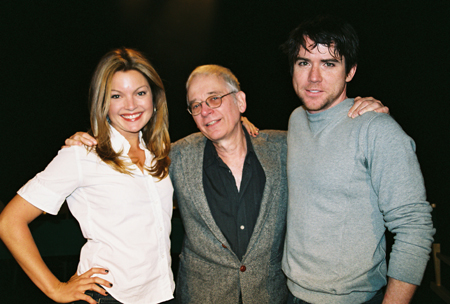 Clare Kramer, Austin Pendleton and Christian Campbell at Loose Ends Reading