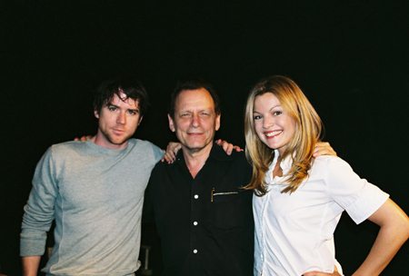 Christian Campbell, Michael Weller and Clare Kramer at Loose Ends Reading