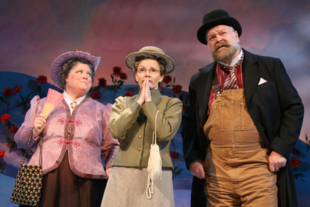 Heather MacRae, Bethe B. Austin and Erick Devine at Anne of Green Gables in Previews