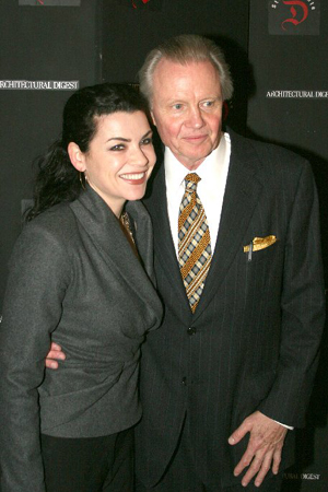 Julianna Margulies and Jon Voight at Studio Dante 'First Readings' Benefit