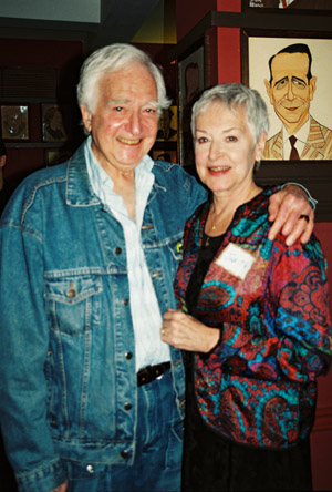 Donald Grody (Grey Gardens) and Judith Anderson at Career Transition for Dancers at Sardi's