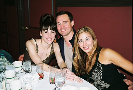 Chryssie Whitehead (A Chorus Line), Brad Anderson (A Chorus Line) and Lorin Latarro (A Chorus Line) at Career Transition for Dancers at Sardi's