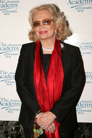 Legends of The Academy Honoree Gena Rowlands  at AADA Honors Bancroft, Durning and Rowlands