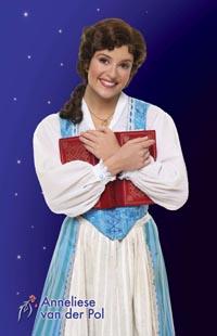 Anneliese van der Pol Begins as Broadway's Belle, April 3