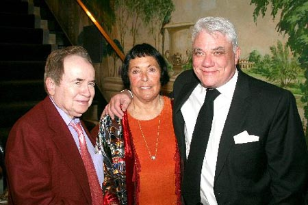 Joe Franklin, Keely Smith and Rex Reed at Keely Smith Opens at the Cafe Carlyle